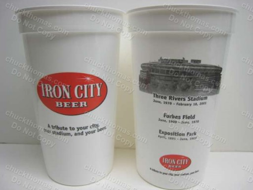Three Rivers Staduim Iron City Beer Cup