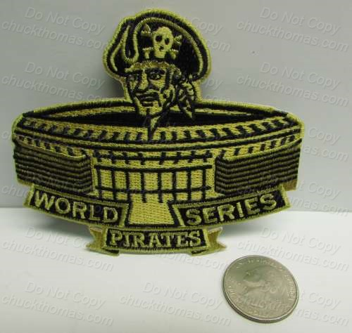 Pirates 1971 World Series 3 Rivers Patch