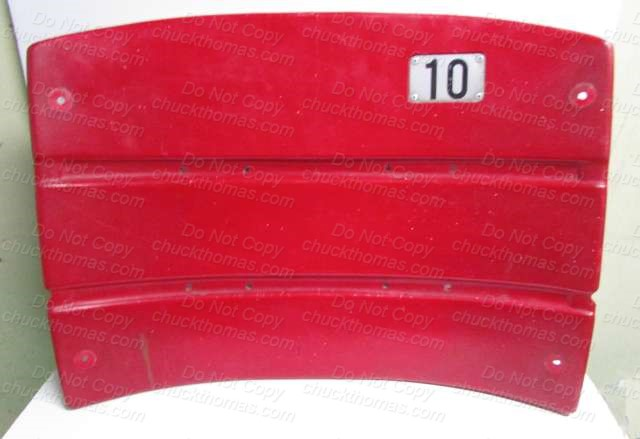 Three Rivers Stadium ORIGINAL Stadium Seat Back #10