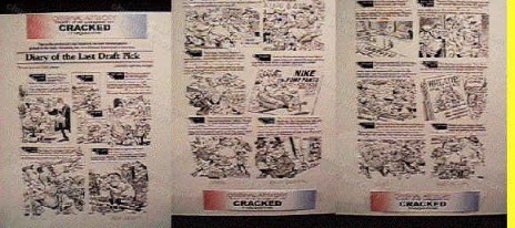 Bruce Bolinger Cracked Magazine Original Artwork