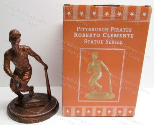 2005 Pirates Roberto Clemente Ball Park Statue Home Game Promotion
