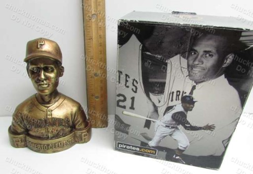 Roberto Clemente Heavy 5 Inch Bust, a 2010 Home Game Pirates Promotion