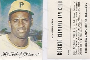 Clemente Dailey Juice Card