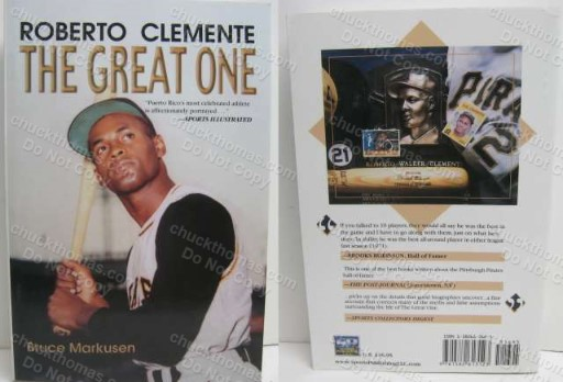 Roberto Clemente The Great One 2001 362 page Soft Cover Book
