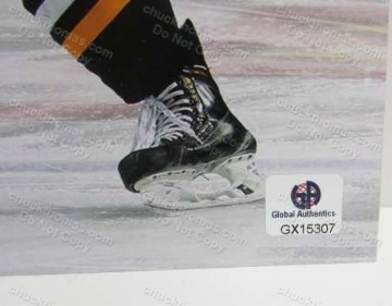 Derrick Pouliot Autograph Global Authentics Sticker