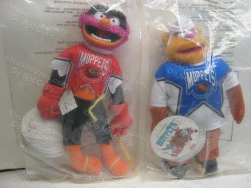 Candaian Muppet Hockey Players