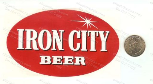 Iron City Case UNUSED Sticker