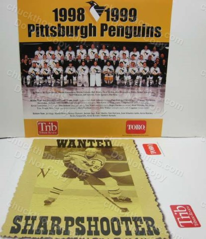 Pens 1999 Team Photo with Jagr on the Back