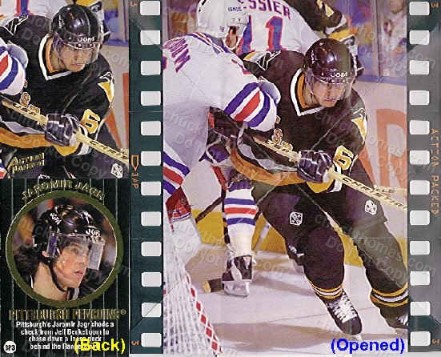 1994 Jaromir Jagr Action Packed PROMO Card