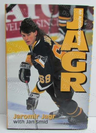 Jaromir Jagr Autobiography Hard Cover Book
