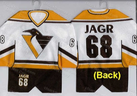 Jagr Mini Jersey Hanger - Penguins
