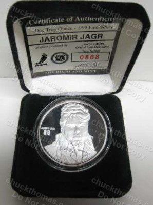 Jaromir Jagr 68 Memorabilia And Collectibles