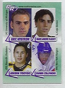 Marc-Andre Fleury Rookie Review Card