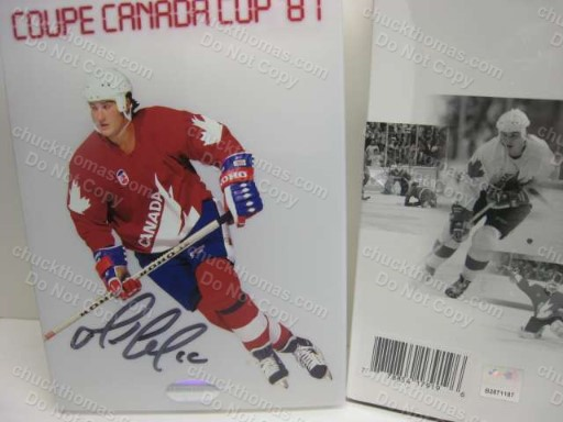 Lemieux Signed Canda Cup 1987 DVD Set