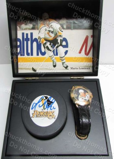 Mario Lemieux  Fossil Watch Gift Set