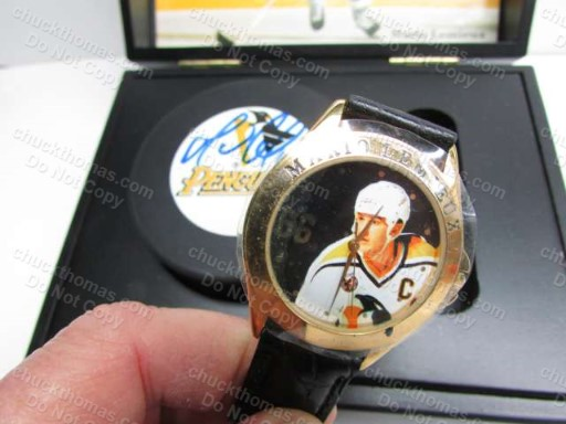 Fossil Watch Boxed Gift Set Mario Lemieux