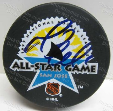 Mario Lemieux Autographed All Star Puck
