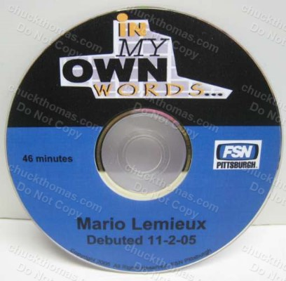Mario Lemieux In My Own Words Fox Sports DVD