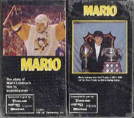 1989 Mario Lemieux VHS Tape by Foodland Stores