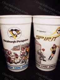 Pair Penguin/Spirit Cups