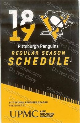 Penguin 2019 Pocket Schedule