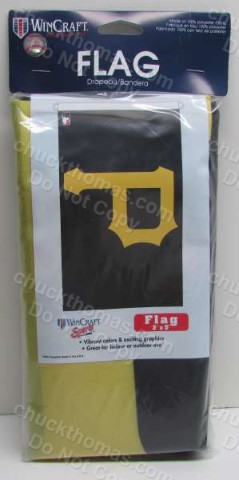 Pirate Baseball 3 x 5 Foot Vertical Outdoor Banner