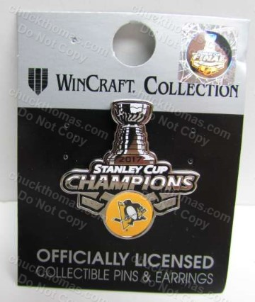 Pens 2017 Stanley Cup Champions Pin