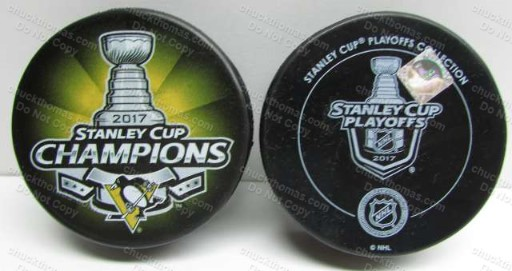 Penguins 2017 Stanley Cup Official Puck