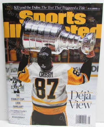 Sports Illustrated June 19, 2017 Sidney Crosby Cover