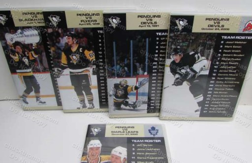 Pittsburgh Penguins TEN Greatest games on DVD - 10 DVDs Set