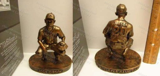 Pirates 2006 Allstar Game Exclusive Grays Josh Gibson Statue