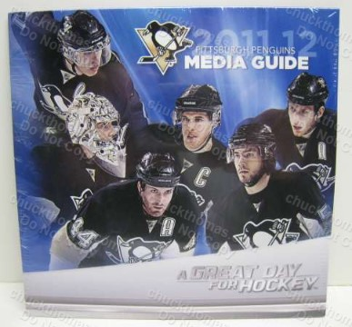 Penguins 2012 Media Guide on a CD