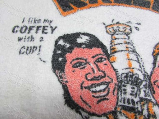 Rob Brown and Paul Coffey Rally Rag RARE !