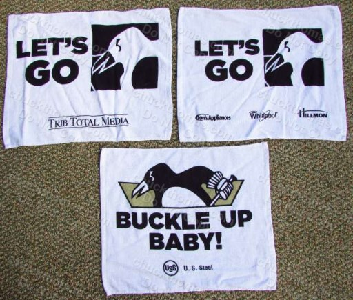 2013 Playoff Towels Pittsburgh Penguin Hockey