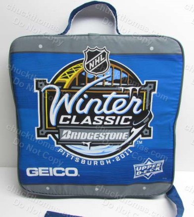 Penguins 2011 Winter Classic Seat Cushion