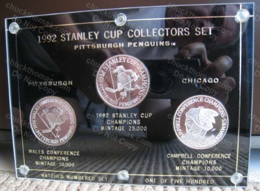 Pens Back to Back Three .999 Silver Coin Set