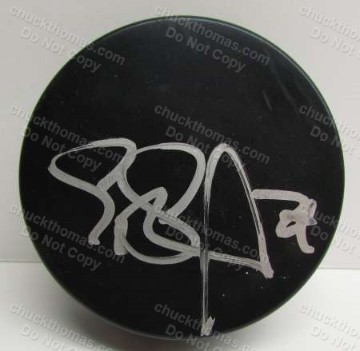 Geno Malkin Signed Hockey Puck with an ACE COA