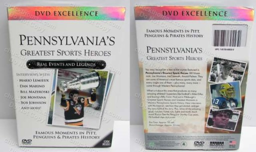 Western Pennsylvania's Greatest Sports Heros DVD