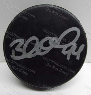 Penguin Brooks Orpik Autographed Hockey Puck
