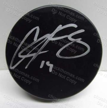 Chris Kunitz Autographed Hockey Puck