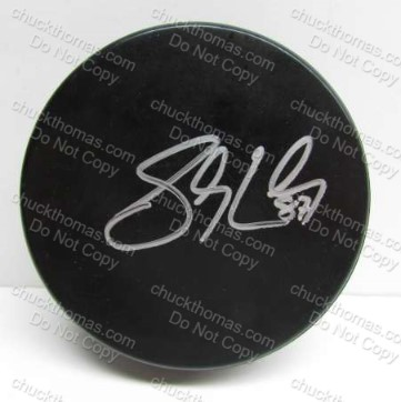 Penguin Captain Sidney Crosby Autographed Puck