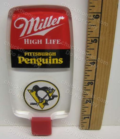 Penguin Miller High Life Beer Tap Handle