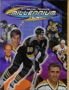 2000-01 Pens Millennium Team Book