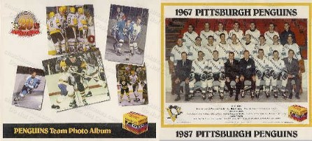 1986-87 Penguins Team Photo