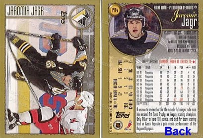 1999 Pen's 4 Card Set