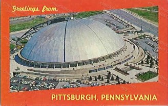 Civic Arena Postcard