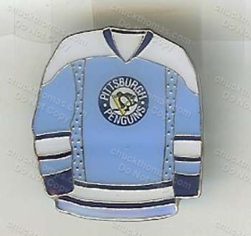 Penguin Blue Jersey Pin