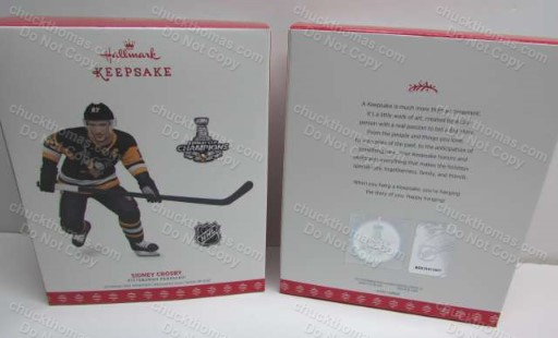 Sidney Crosby 2017 Black Jersey Hallmark Ornament