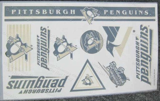 Penguin Hockey Temporary Tattoos