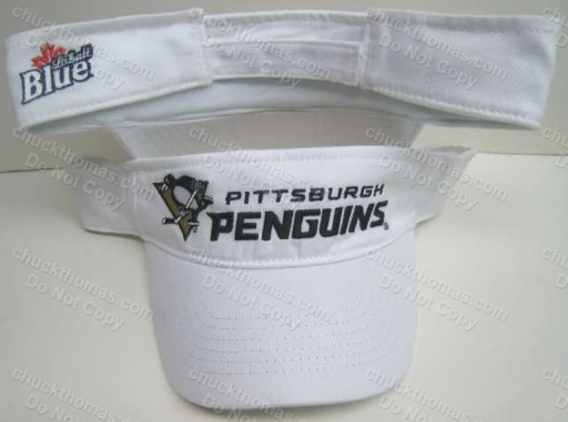 Penguins Labatt Blue Visor